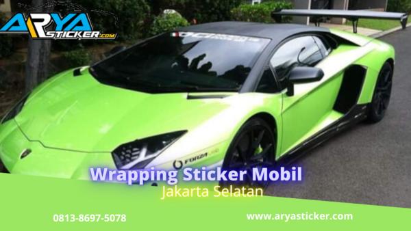 Wrapping Sticker Mobil jakarta selatan