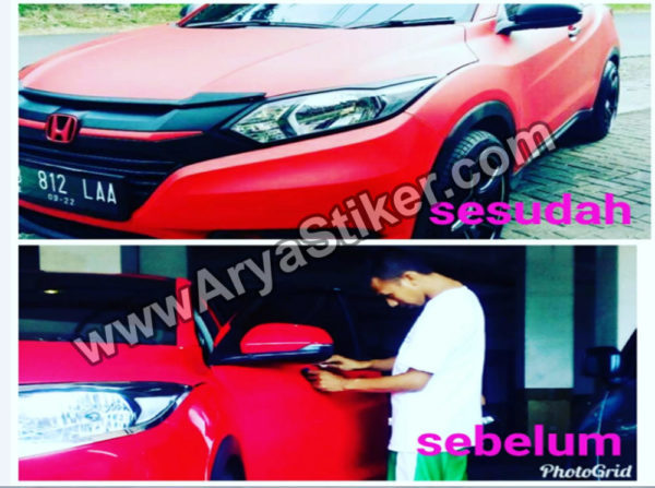 jasa wrapping sticker mobil bsd